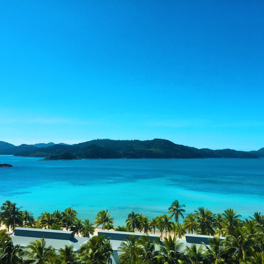 The Reef View Hotel - Hamilton Island, vista da praia