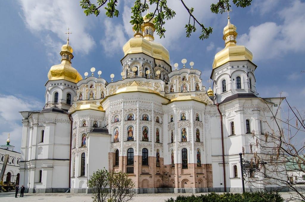 Monastério de Kiev-Petchersk, em Kiev, na Ucrânia.