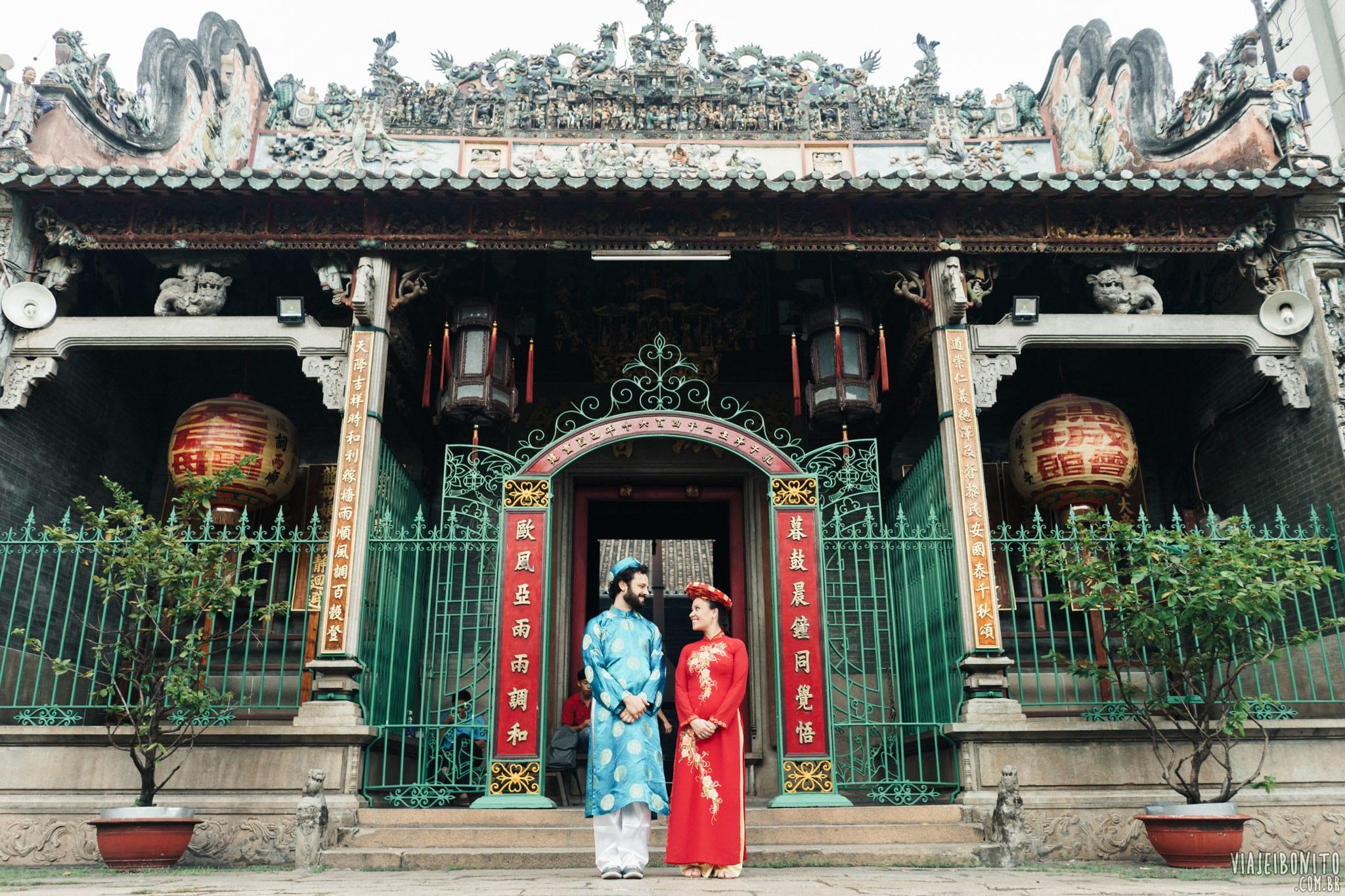 Do nosso casamento vietnamita organizado às pressas em Ho Chi Minh