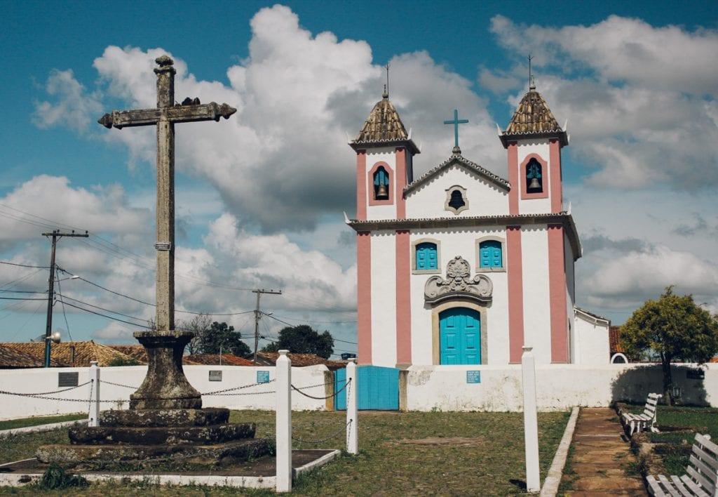 Igreja Nossa Senhora dos Prazeres em Lavras Novas, Minas Gerais, Brasil