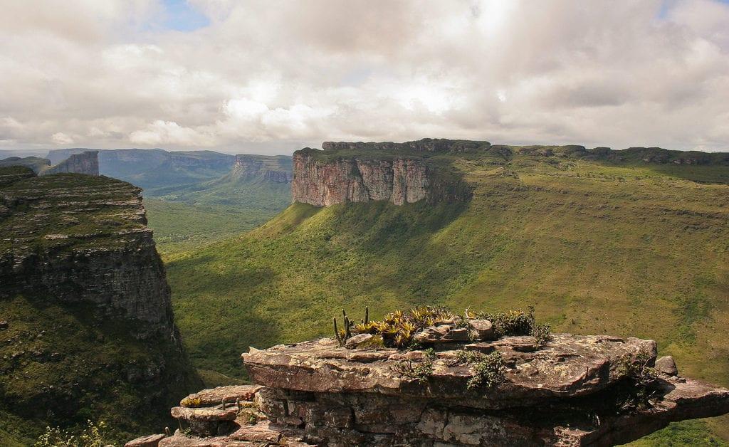 Morro do Inácio, na Chapada Diamantina. Bahia, Brasil