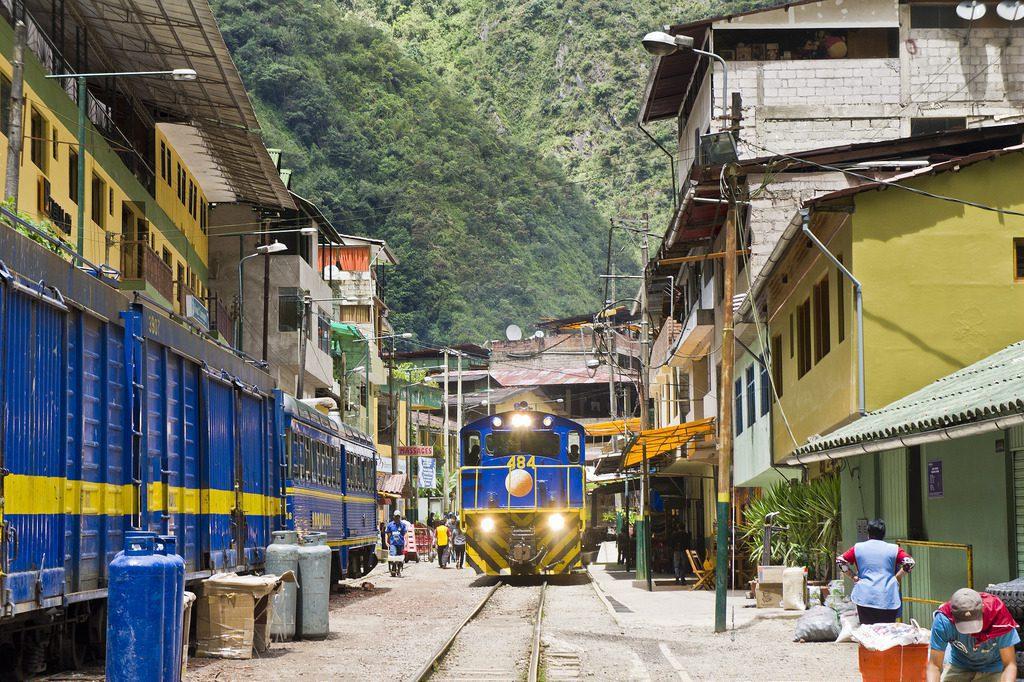 Aguas Calientes é a cidade mais próxima a Machu Picchu