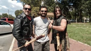 Cosplays de The Walking Dead em Senoia, Geórgia