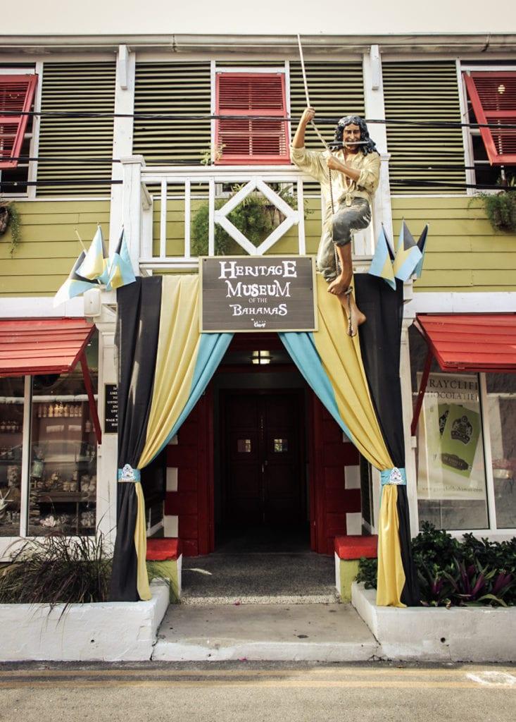 O Heritage Museum of the Bahamas guarda relíquias dos tempos em que Nassau era habitada por piratas