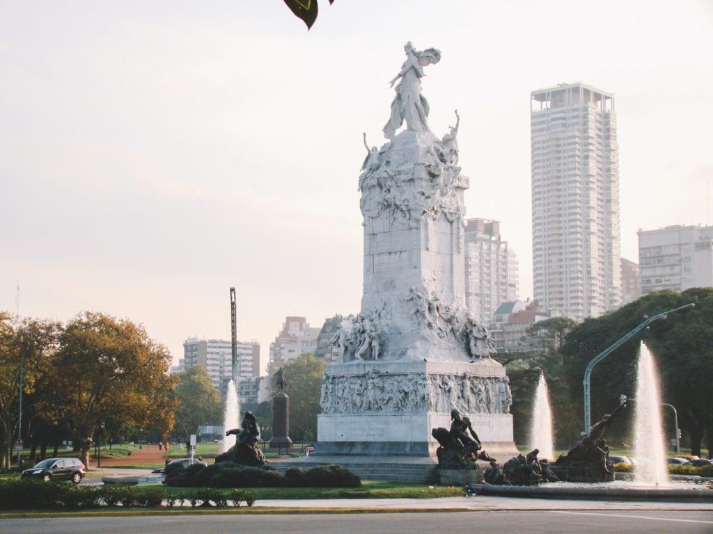 Las Nereidas, em Buenos Aires, Argentina