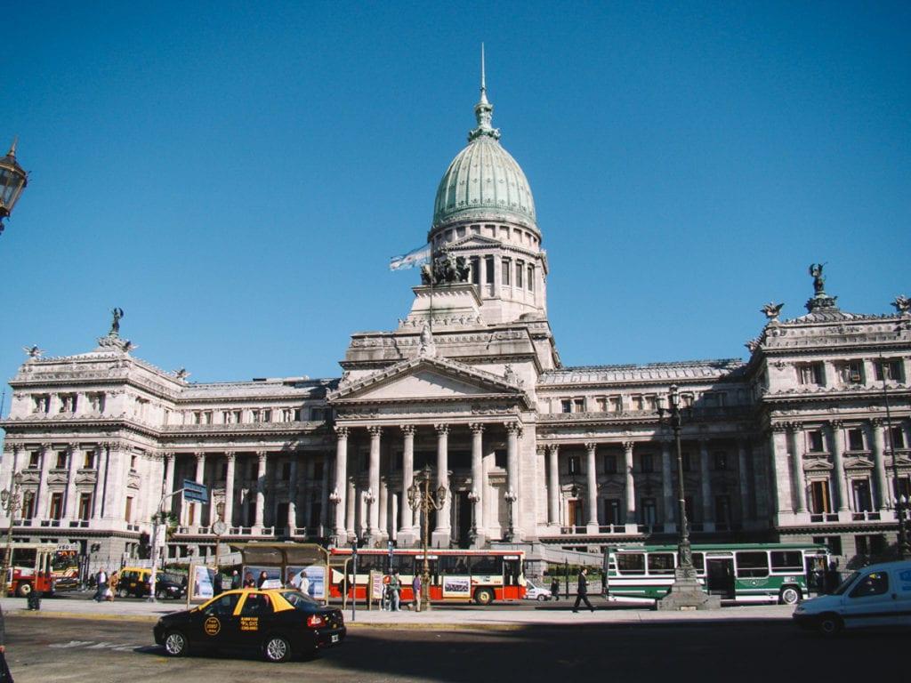 Congreso de la Nación Argentina, em Buenos Aires