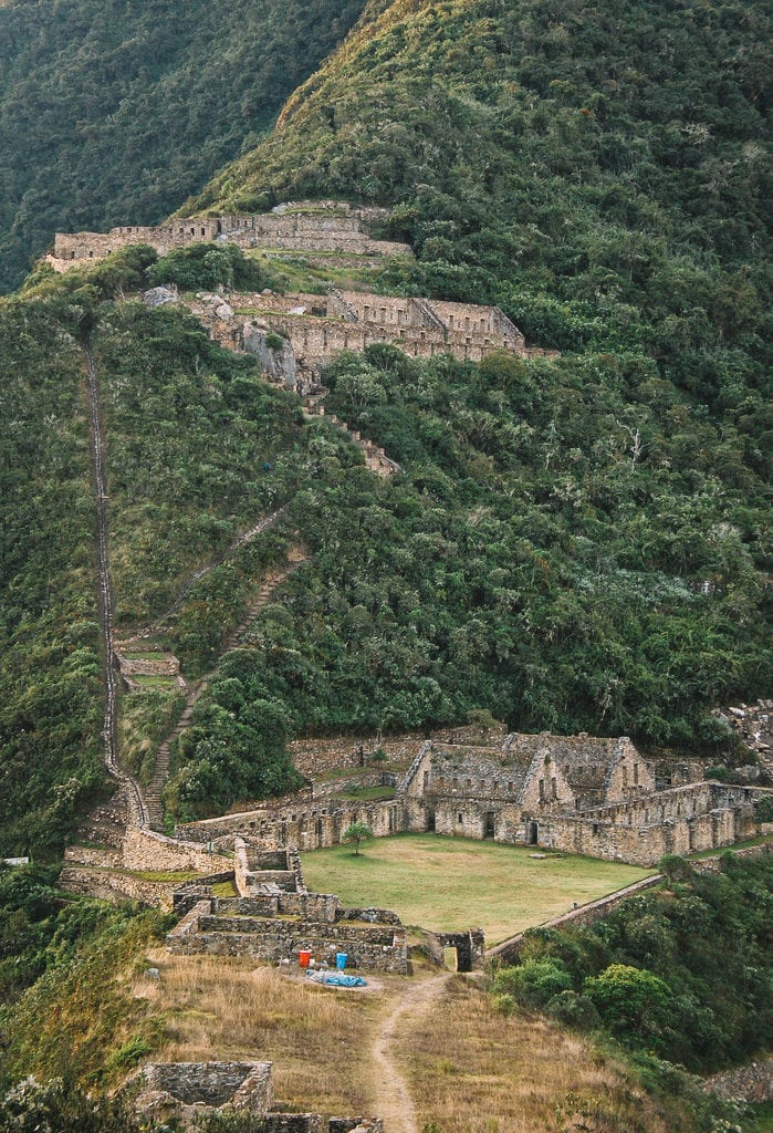 Choquequirao, no Peru, foi morada dos incas antes do domínio europeu