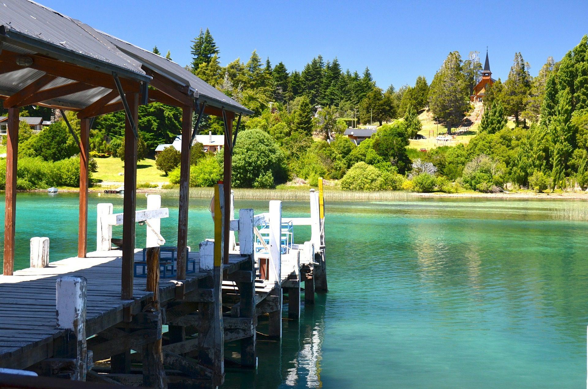 Lago em Bariloche, Argentina