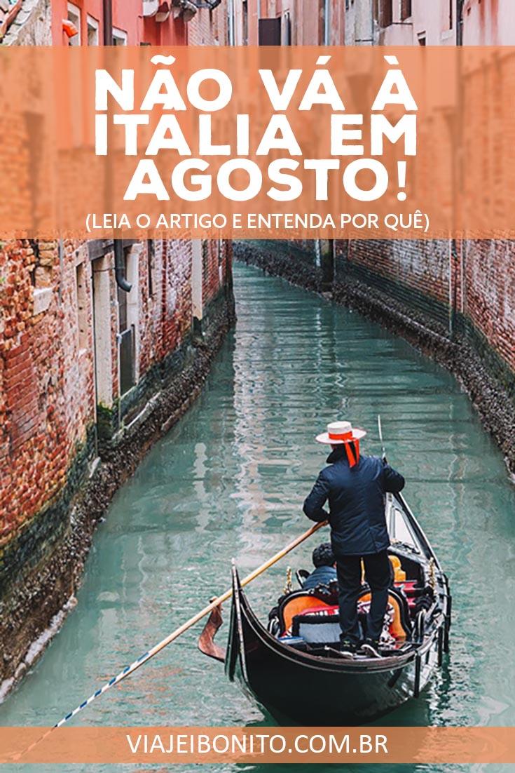 Não vá à Itália em Agosto. Entenda o que é Ferragosto e como ele pode afetar a sua viagem. Créditos:  muratart / Fonte: Shutterstock