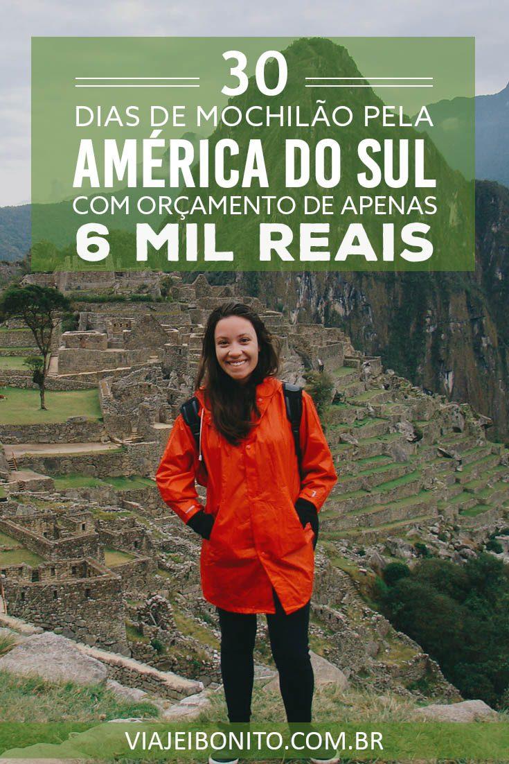 30 dias de mochilão pela América do Sul com menos de 6 mil reais no bolso. Passando por Uruguai, Argentina, Chile, Bolívia e Peru. Créditos: Laura Almeida