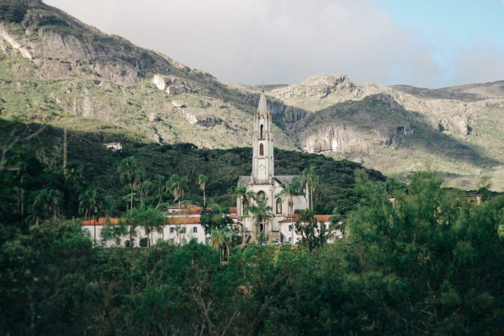 Santuário do Caraça, na divisa entre Catas Altas e Santa Bárbara, Minas Gerais