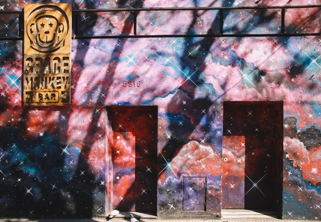 Graffiti em Palermo Hollywood, Buenos Aires