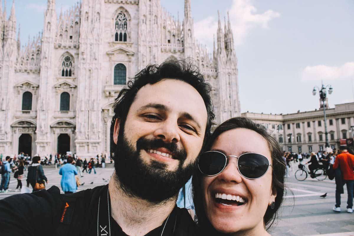 Visitando atrações gratuitas em Milão durante um mochilão barato