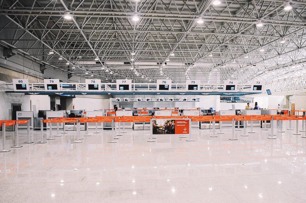 Aeroporto Internacional Tom Jobim (Galeão), no Rio de Janeiro