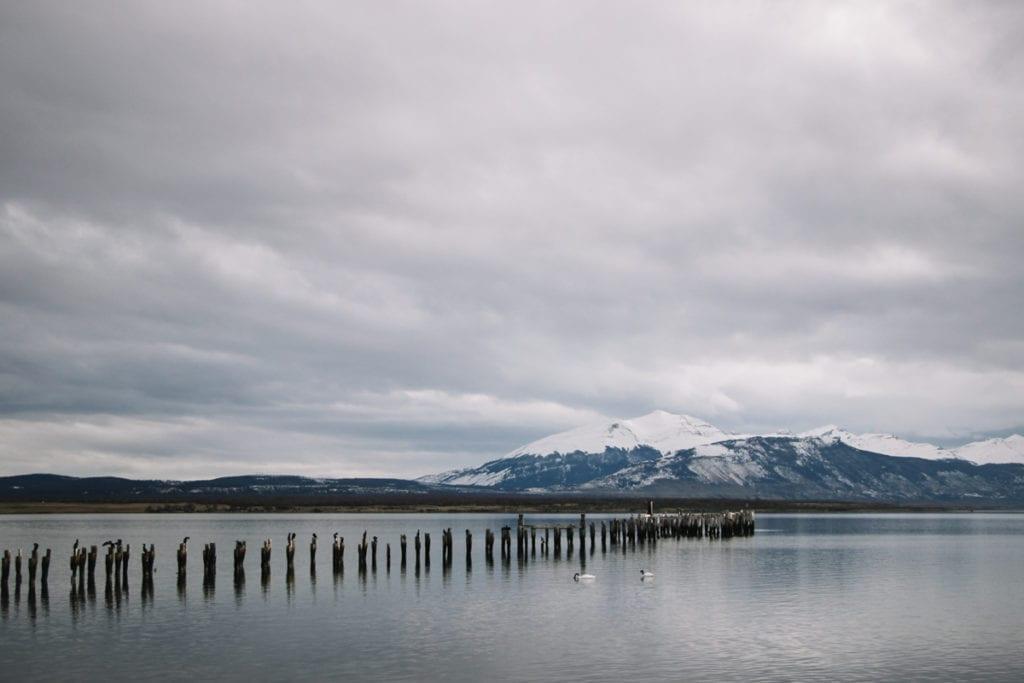 Muelle Historico em Puerto Natales, Chile