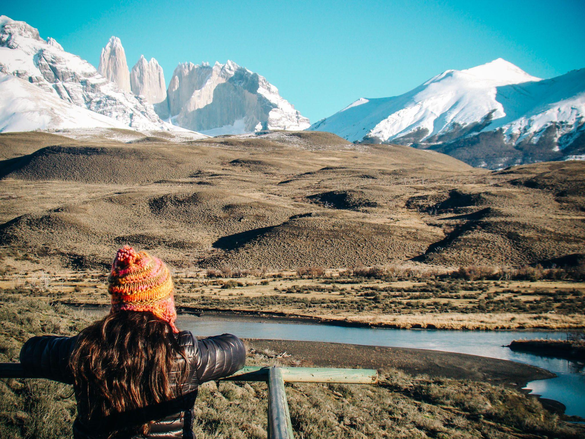 Gisele em Torres del Paine, Chile