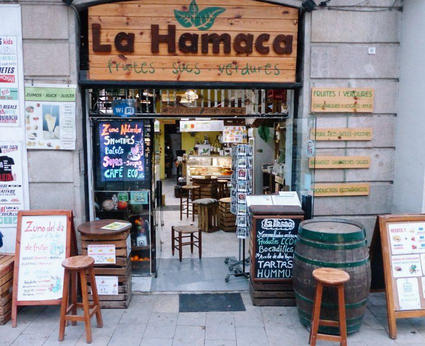 La Hamaca, refeições gostosas e baratas em Barcelona feitas com produtos orgânicos