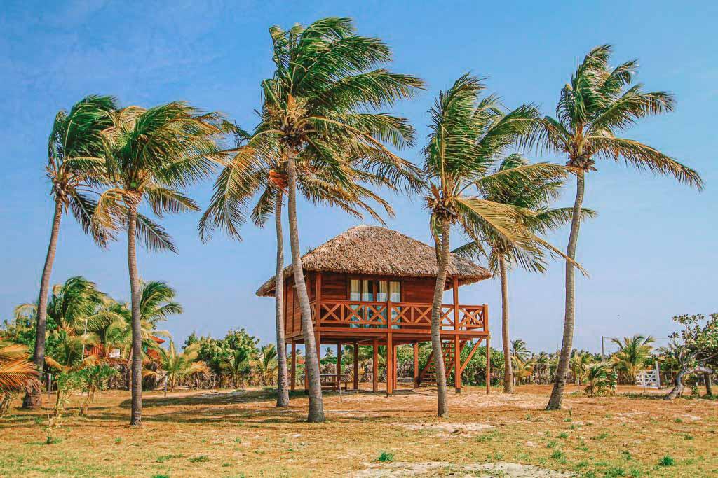 Pousada à beira-mar em Atins, Maranhão