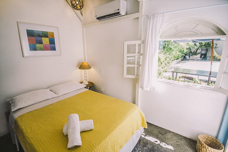 Quarto privativo Ipanema Beach House